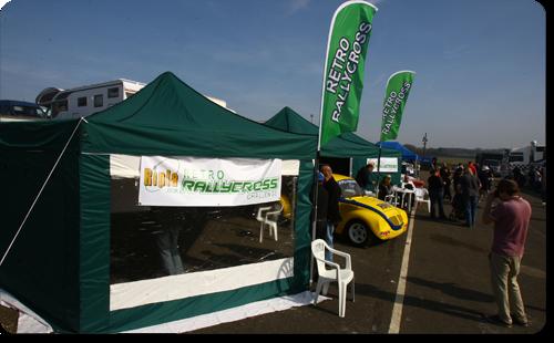retro rallycross arena